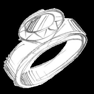 Dieter Ostheimer Silber Schmuck Goldschmied Werkstatt Ring Logo